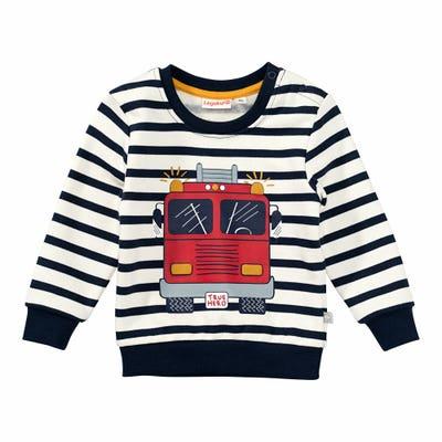 Baby-Jungen-Sweatshirt mit Feuerwehrauto