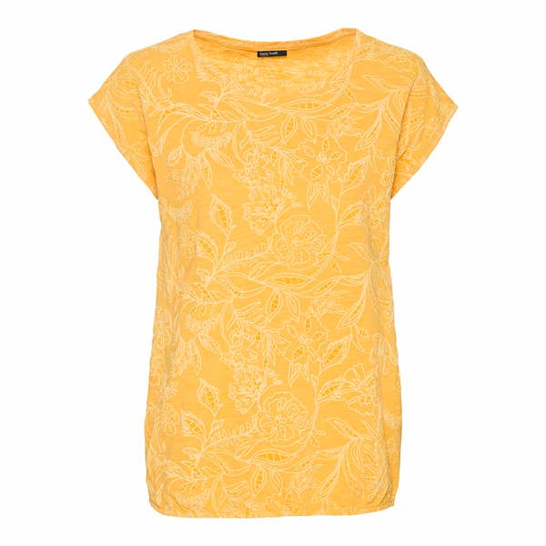 Damen-T-Shirt mit elegantem Muster