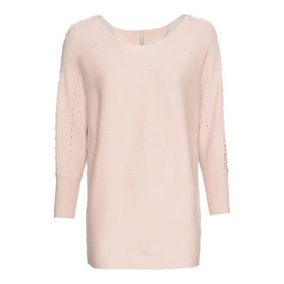Damen-Pullover mit Perlen-Applikation