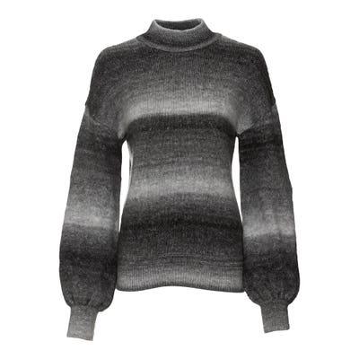 Damen-Pullover mit leichten Ballon-Ärmeln