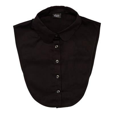 Damen-Blusenkragen mit Knopfleiste