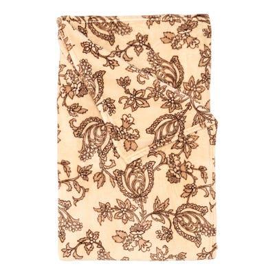 Flanell-Fleece-Decke mit Muster, 150x200cm