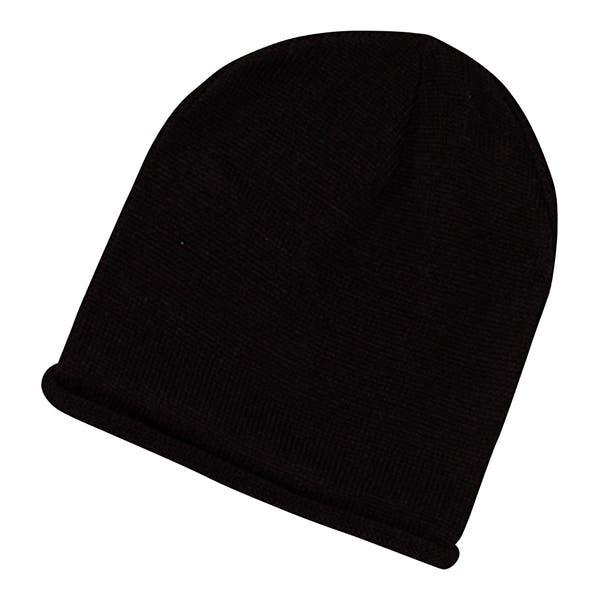 Damen-Mütze mit Strickdesign