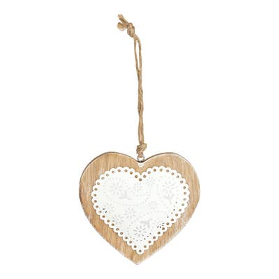 Deko-Herz aus Holz, verschiedene Größen