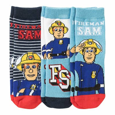 Feuerwehrmann Sam Jungen-Socken, 3er-Pack