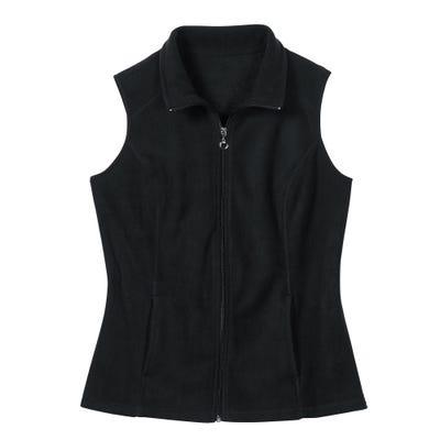 Damen-Fleece-Weste mit 2 Taschen