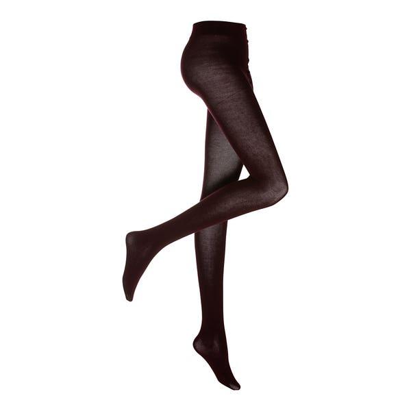 Damen-Strickstrumpfhose aus Baumwolle