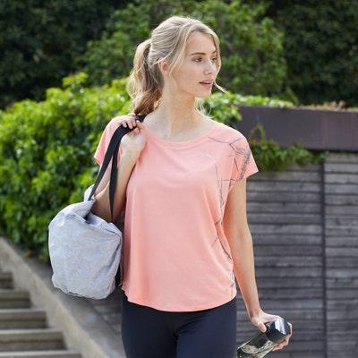 Damen-T-Shirt mit Sport-Aufdruck