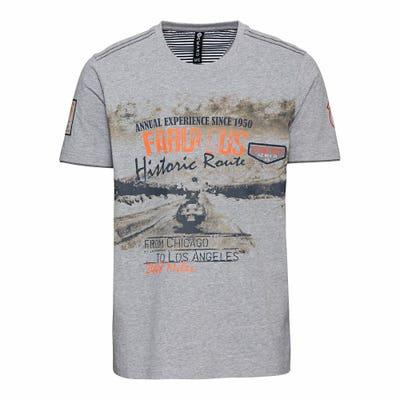 Herren-T-Shirt mit tollem Frontaufdruck