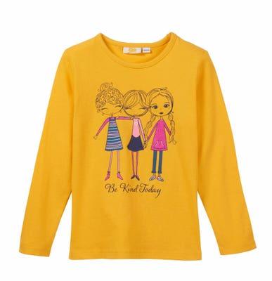 Mädchen-Shirt mit niedlichem Druck