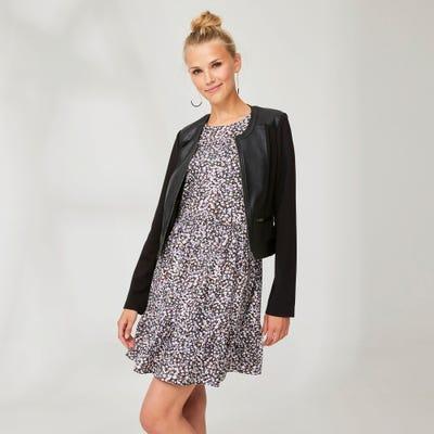 Damen-Kleid mit schickem Muster