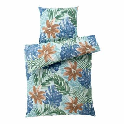Baumwoll-Bettwäsche mit floralem Design