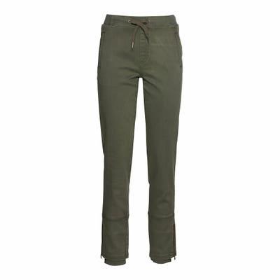Damen-Hose mit schickem Beinabschluss