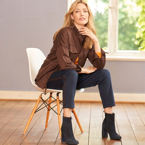 Damen-Joggpants mit Seitenband
