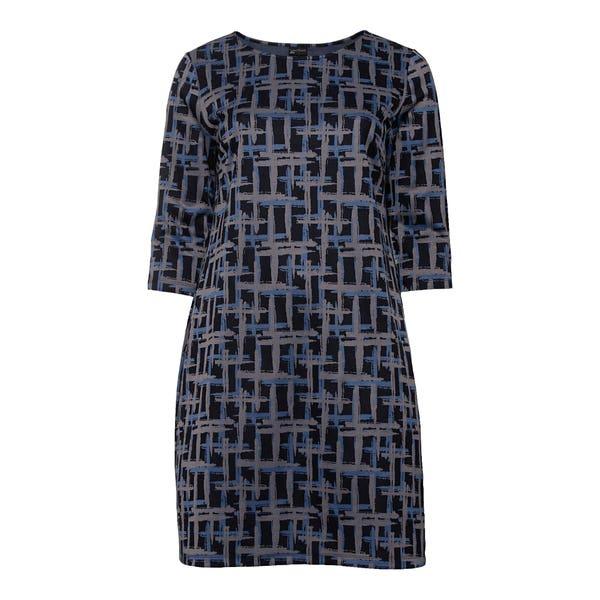 Damen-Kleid mit Trend-Muster, große Größen