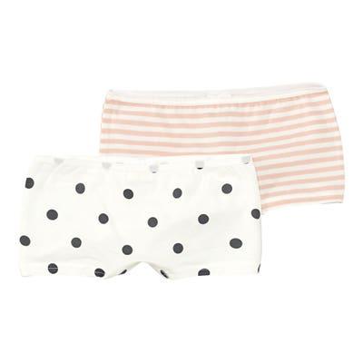 Mädchen-Panty mit Punkte-Motiv, 2er-Pack