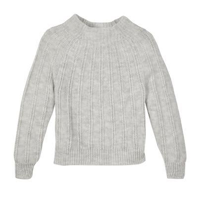 Damen-Pullover mit Struktur