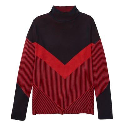 Damen-Pullover mit Farb-Block