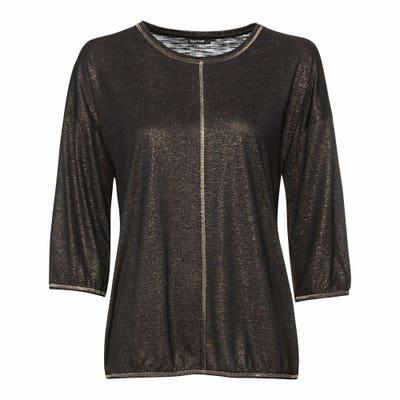 Damen-Shirt mit Glitzerfäden