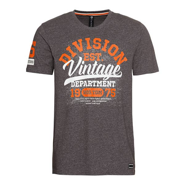 Herren-T-Shirt mit großem Frontaufdruck