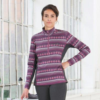 Damen-Langarmshirt im Norweger-Style
