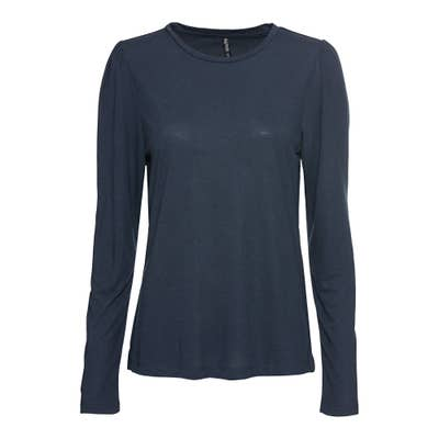 Damen-Shirt mit langen Puffärmeln
