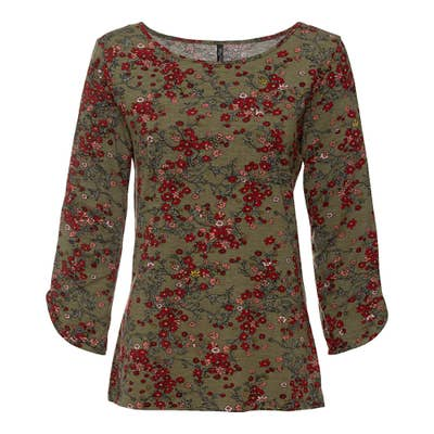 Damen-Shirt mit 3/4-Ärmeln