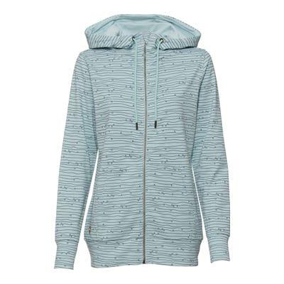 Damen-Sweatshirt-Jacke mit Kapuze