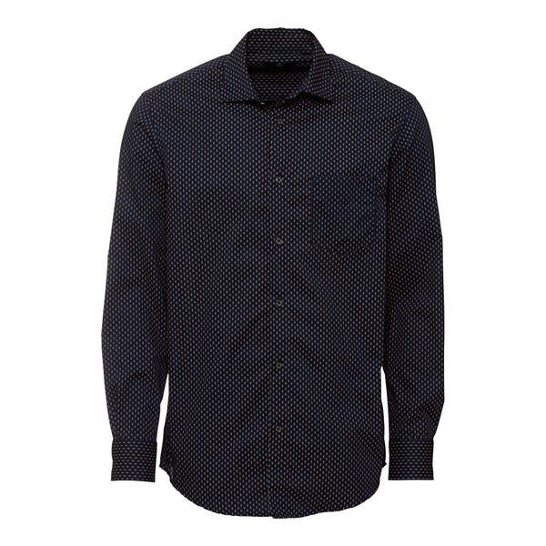 Herren-Hemd mit Punkte-Muster