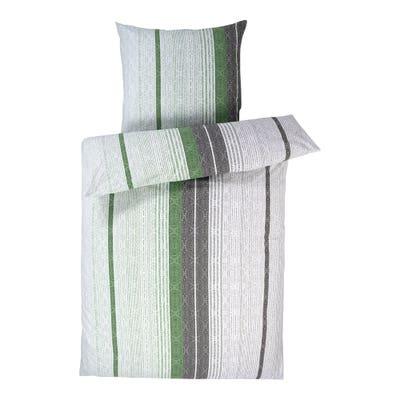 Biber-Bettwäsche mit Streifendesign