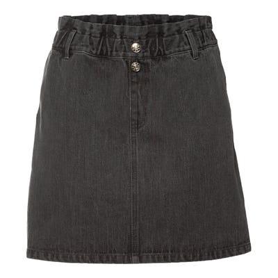 Damen-Jeansrock aus reiner Baumwolle