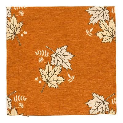 Modische Kissenhülle mit Herbstblätter-Motiv