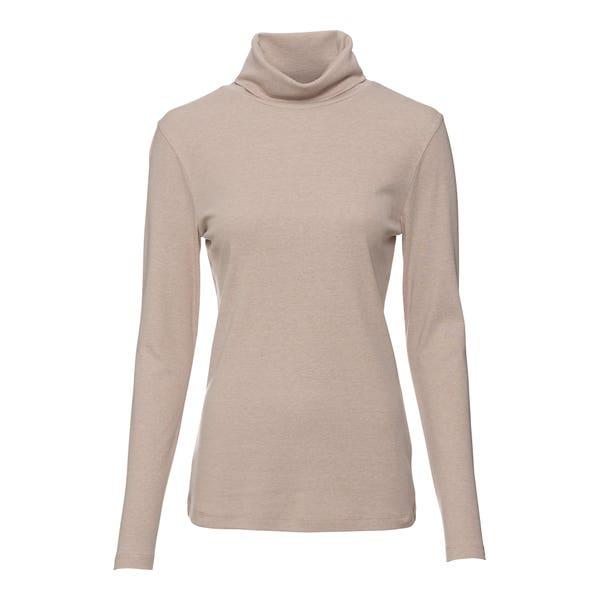 Damen-Shirt mit elegantem Rollkragen