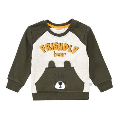 Baby-Jungen-Sweatshirt mit Känguru-Taschen