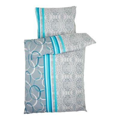 Biber-Bettwäsche in 2 verschiedenen Designs