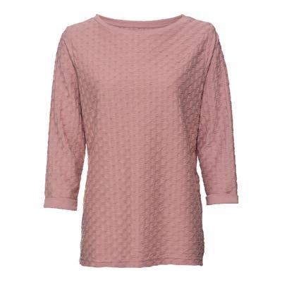Damen-Shirt mit Struktur-Muster