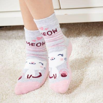 Mädchen-Socken mit niedlichem Design