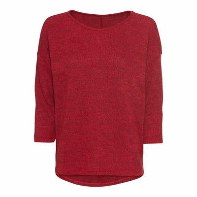 Damen-Sweatshirt mit 3/4-Ärmeln