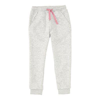 Mädchen-Jogginghose mit rosa Bändern
