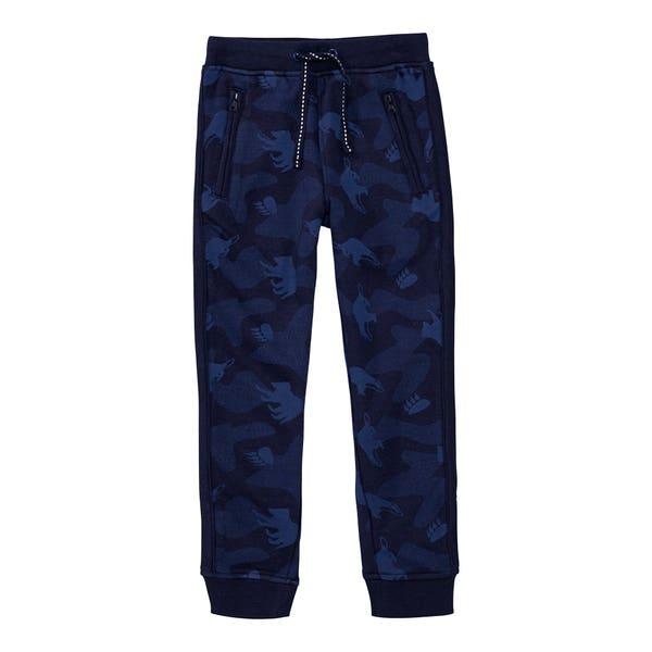 Jungen-Jogginghose mit 2 Reißverschluss-Taschen