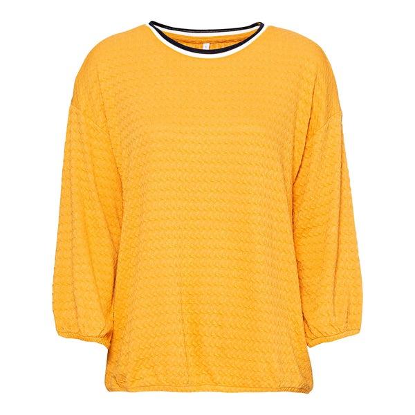 Damen-Shirt mit Struktur