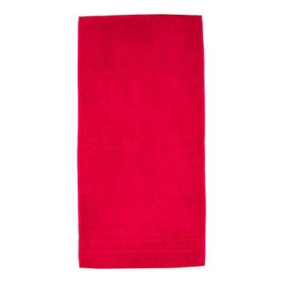 Handtuch mit Kontrast-Glanz-Bordüre, ca. 50x100cm