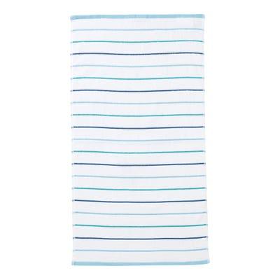Handtuch mit Streifenmuster, ca. 50x100cm