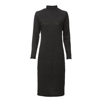 Damen-Kleid mit Stehkragen