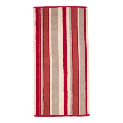 Handtuch mit Blockstreifen, ca. 50x100cm