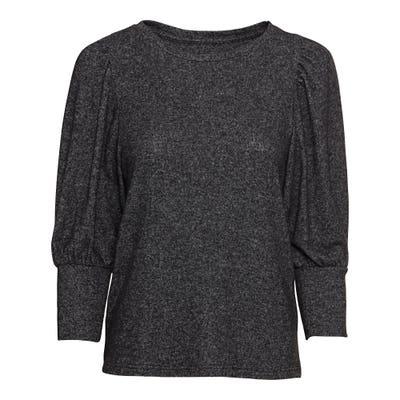 Damen-Sweatshirt in Melange-Optik