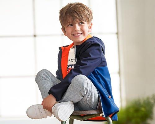 Coole Jungen-Jacken