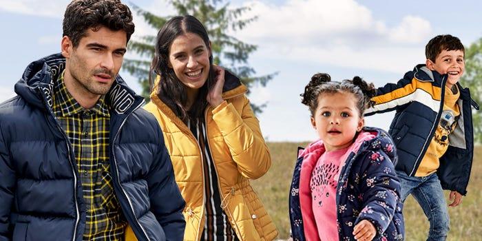Jacken für die ganze Familie