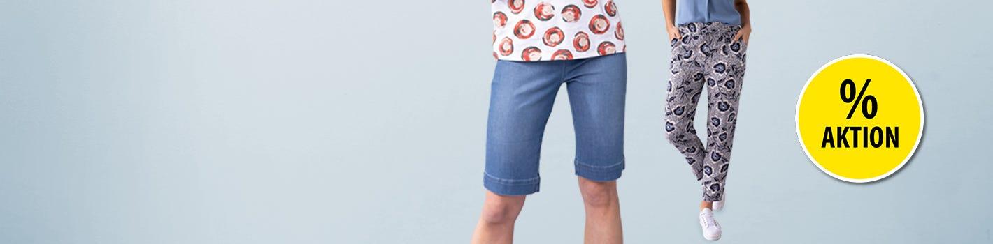 20% auf Damen- und Herren-Hosen