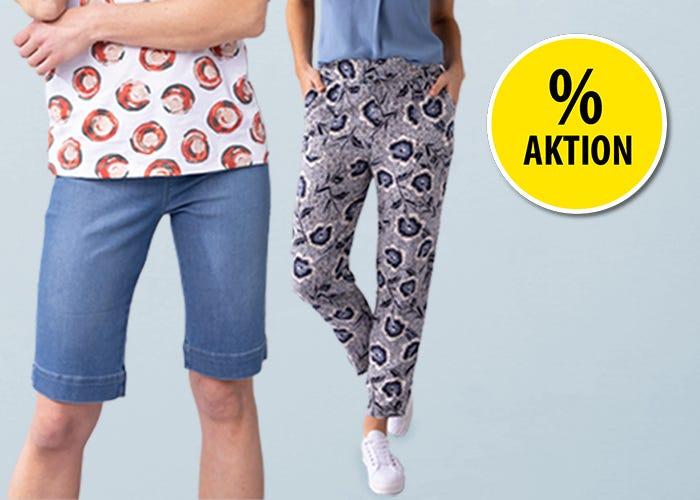 20% auf Damen- & Herren-Hosen